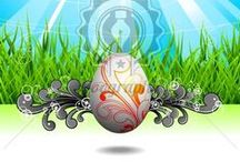 Easter Illustrations / Easter Illustrations - More images here:  http://www.yoographic.com/image-type/easter/