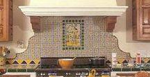 Kitchen Backsplash / Kitchen backsplash tile murals and decorative ceramic tiles.