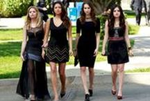 PLL funeral outfits / Pretty Little Liars' favourite funeral outfits.