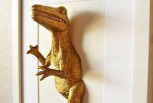 Dinosaurus / Dino's voor kinderkamer