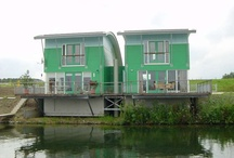Aquatecture - Floating & Amphibious Building / See also Flood Proofing, Green Infrastructure and & Sustinable Design collections
