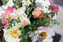 Informal bouquets