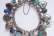 Charm Bracelets / New, antique and vintage charm bracelets.   silverstarcharms.com
