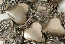 Heart Charms / Heart shaped charms. ★ silverstarcharms.com