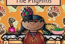 A TPT Thanksgiving TiePlay Educational Resources LLC / These Thanksgiving lesson ideas and products are fun, educational and motivating for PK-12. Please limit pins to 1  different pin per day. Regards, TiePlay