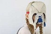 CHARACTERS / Masks, Make-Up, Transformation
