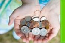 Children and Money / Don't let money be a taboo topic in your home. Shannon shares tips to help you start these important conversations.