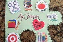 Back to School Ideas / Materials just for back to school fun time! Make your first few days back to school fun and exciting.