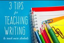 Teaching Writing / How to teach writing (essay, sentence structure, and more)