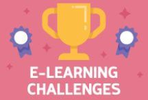 E-Learning Challenges / Learn. Share. Challenge yourself. Dive into our weekly E‑Learning Challenges to try new skills, find inspiration, and build your portfolio.