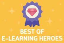 Best of E-Learning Heroes / Get advice, inspiration, and help. Check out conversations happening right now about building better e-learning and using Articulate products.