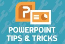 PowerPoint Tips & Tricks / Tips for building interactions, animations, and compelling images with the tools in Microsoft PowerPoint.