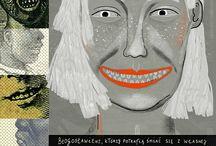 Pretty-uglies: my illustrations / Moje paskudy w jednym miejscu
