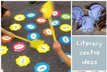 Center Activities / Literacy and Math Centers - Get kids learning by letting them move