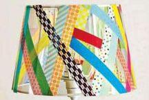 happy home decor // washi tape ideas