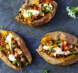 Veggie | Simply Sweet Potato / Feed your sweet tooth with these simple sweet potato recipes for everyday of the week.