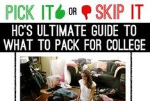 Preparing for College / Helping high school kids get ready for college