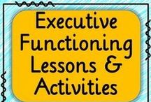 Executive Functioning / Executive functioning skills include planning, organization, time management, metacognition, goal-setting, attention, and more. These executive functioning skills are critical for student success in school and outside of school.