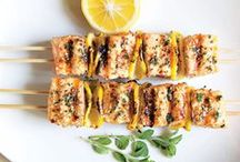 Summer | BBQ Recipe Ideas / Enjoy a brilliant BBQ this summer with these sweet and savoury recipe ideas.