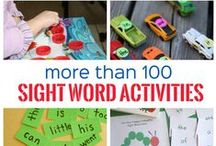 Reading - Sight Word Learning / Learn sight words - critical for learning to read and reading well! Build automaticity with sight words.