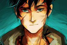 Percy Jackson <3 / Percy Jackson e os Olimpianos/ Heróis do Olimpo, de Rick Riordan.