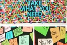 Bulletin Board Ideas for Class / Awesome bulletin board ideas for the classroom