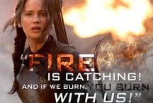 Girl on Fire / Hunger Games FANDOM!