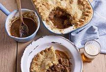 Simple Pie Recipes / Lots of brilliant, simple pie recipes to help you enjoy British Pie Week!