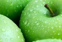 Apfelsaftkonzentrat / Verschiedene Bilder von Äpfel