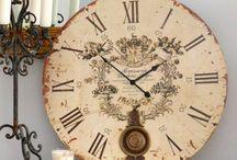 Esferas de relojes antiguos