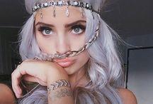 hair • eyebrows • lips ♡