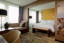 Zurich Marriott Hotel / The Zurich Marriott Hotel provides a relaxing atmosphere filled with the comforts of high-tech amenities and attentive service. Designed to ensure guests have everything needed for a remarkable hotel experience during their stay in Zurich, guest rooms and suites feature luxury linens, 24-hour room service, Plug-In technology and International cable/satellite service.