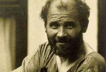 """Gustav klimt︵‿✎""""ART"""" / Gustav Klimt (Vienna, 14 luglio 1862 – Neubau, 6 febbraio 1918) pittore austriaco, uno dei massimi esponenti dell'Art Nouveau.  Viaggio tra la fantasia e la realtà............  NO PIN LIMITS-REPIN AT WILL!!!"""