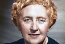 Agatha Christie〽️✍ /  Dame Agatha Mary Clarissa Miller, Lady Mallowan, nota come Agatha Christie (Torquay, 15 settembre 1890– Wallingford, 12 gennaio 1976), è stata una scrittrice britannica.    NO PIN LIMITS