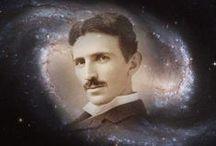 """⚛Nikola Tesla↯↯↯ /  (Smiljan, 10 luglio 1856 – New York, 7 gennaio 1943)  è stato un ingegnere elettrico, inventore e fisico serbo naturalizzato statunitense nel 1891. """"Mi chiamarono pazzo nel 1896 quando annunciai la scoperta dei raggi cosmici. Ripetutamente si presero gioco di me e poi, anni dopo, hanno visto che avevo ragione. Ora presumo che la storia si ripeterà quando affermo che ho scoperto una fonte di energia finora sconosciuta, un' energia senza limiti, che può essere incanalata """". NO PIN LIMITS"""