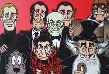Fumetto Italiano ㋡︵‿✎ / Alan Ford è una racconta le avventure di uno squinternato gruppo di agenti segreti, il Gruppo TNT,creati dalla mente di Max Bunker e dalla matita di Magnus .__Lupo Alberto è una striscia a fumetti, nata dalla matita di Guido Silvestri, in arte Silver.__Cocco Bill è un personaggio creato da Benito Jacovitti__Diabolik è un personaggio dei fumetti creato nel 1962 da Angela e Luciana Giussani.__ Tex è una serie a fumetti creata nel 1948 da Gian Luigi Bonelli e Aurelio Galleppini .  NO PIN LIMITS