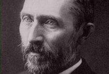 """Vincent Van Gogh︵‿✎""""ART"""" /   (Zundert, 30 marzo 1853 – Auvers-sur-Oise, 29 luglio 1890) è stato un pittore olandese.Autore di ben 864 tele e di più di mille disegni.Tanto geniale quanto incompreso in vita, van Gogh influenzò profondamente l'arte del XX secolo.  NO PIN LIMITS-REPIN AT WILL!!!"""