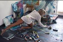 Il mio Mondo⚝☽◯☾⚝︵‿✎ / _____Si usano gli specchi per guardarsi il viso, e si usa l'arte per guardarsi l'anima. (George Bernard Shaw)_____ ___________L'arte scuote dall'anima la polvere accumulata nella vita di tutti i giorni. (Pablo Picasso)___________  L'arte non riproduce ciò che è visibile, ma rende visibile ciò che non sempre lo è. (Paul Klee)  NO PIN LIMITS