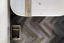 Houtlook Tegels / Wand en vloer tegels voor badkamer, woonkamer, kantoor of iedere andere ruimte. mooi visgraat,