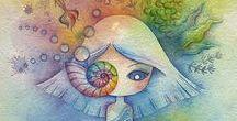 """Juri Ueda︵‿✎""""Art"""" / ...NO PIN LIMITS-REPIN AT WILL!!!"""