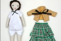 dolls + soft toys