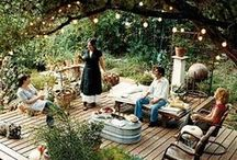 Outdoor living / Landscaping and outdoor features. Outdoor living at its finest. / by SheIsWest