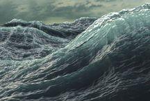 color story:  sage + sea foam