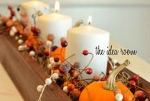for love of fall. / Home decor and ideas for sprucing up the home for fall.