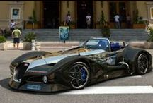 Cool Concept Cars / by Gear Heads