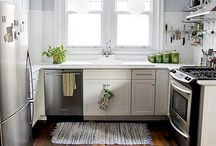 kitchen remodel inspiration. / Someday I'll have a beautiful, functional kitchen.