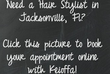 Hair Stylist in Jacksonville, FL / This board is of my life as a hairstylist in Jacksonville, FL.