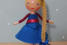 Clothespin and Peg Doll Crafts / by Cynthia Branam