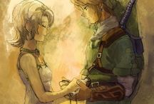 Legend of Zelda / Specifically TP and SS, as those are the only games I've actually played. I ship Ilia/Link in TP and Zelink in SS.  / by Marie Raymond