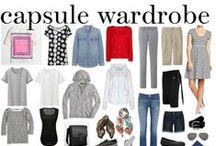 // capsule wardrobes // / Mini-wardrobes of mix-and-match outfit ideas. Plan your outfits for a week.  http://www.franticbutfabulous.com/tag/capsule-wardrobe/ / by Heidi // Frantic But Fabulous
